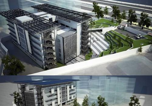Tòa nhà trụ sở Liên Hiệp Quốc tại Hà Nội